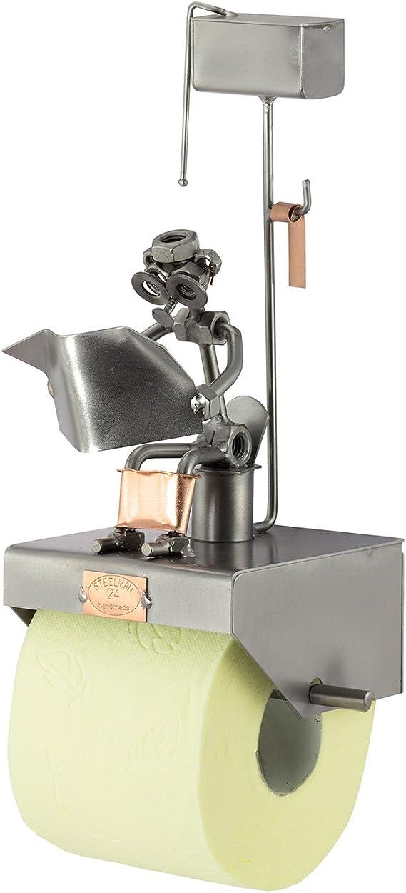 Steelman24 I Papel De Baño con Periódico con Grabado Personal I Made in Germany I Idea para Regalo: Amazon.es: Hogar