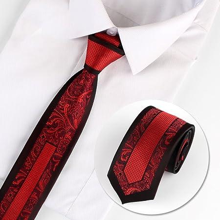 CHAOXIAN Corbata Hombre Elegante Personalidad Marea ...