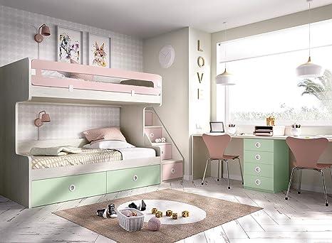 Kinderzimmer Hochbett Jump 310, mit Treppe und viel Platz ...