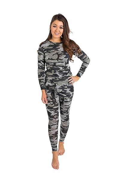 Instagram Clothing - Traje de Jogging para Mujer (Talla Grande), diseño de Rayas