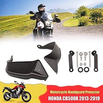Motorrad Handschutz Auzkong Bremse Kupplung Handguards Abs Handschutzschild Für H0nda Cb500x 2013 2019 1 Paar Schwarz Auto