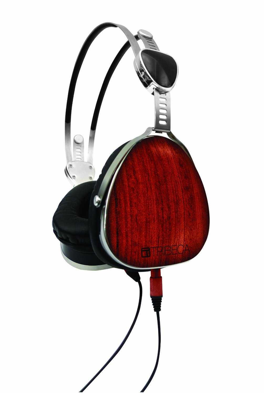 Tribeca Genuine Wood Aviator Headphones for Kindle Fire HD, Bubinga