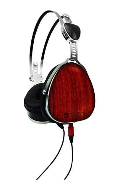Audio Bubinga Amazon Devices & Accessories Tribeca Genuine Wood Aviator Headphones for Kindle Fire HD