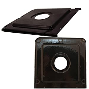 Frigidaire 316011401 Range Drip Pan Genuine Original Equipment Manufacturer (OEM) Part Black