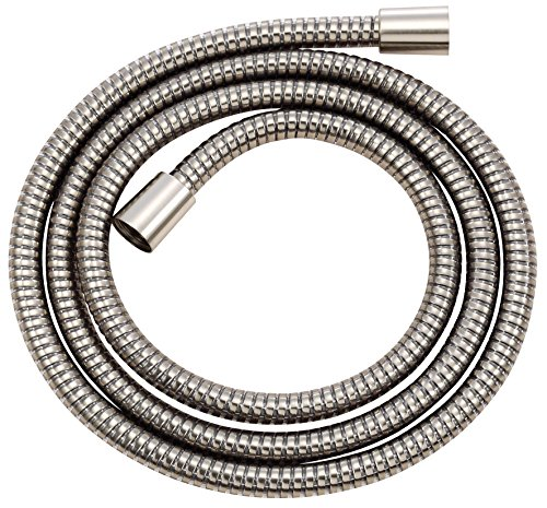 Danze D469030BN M-Flex Shower Hose with Brass Conical Nuts, 72-Inch, Brushed Nickel