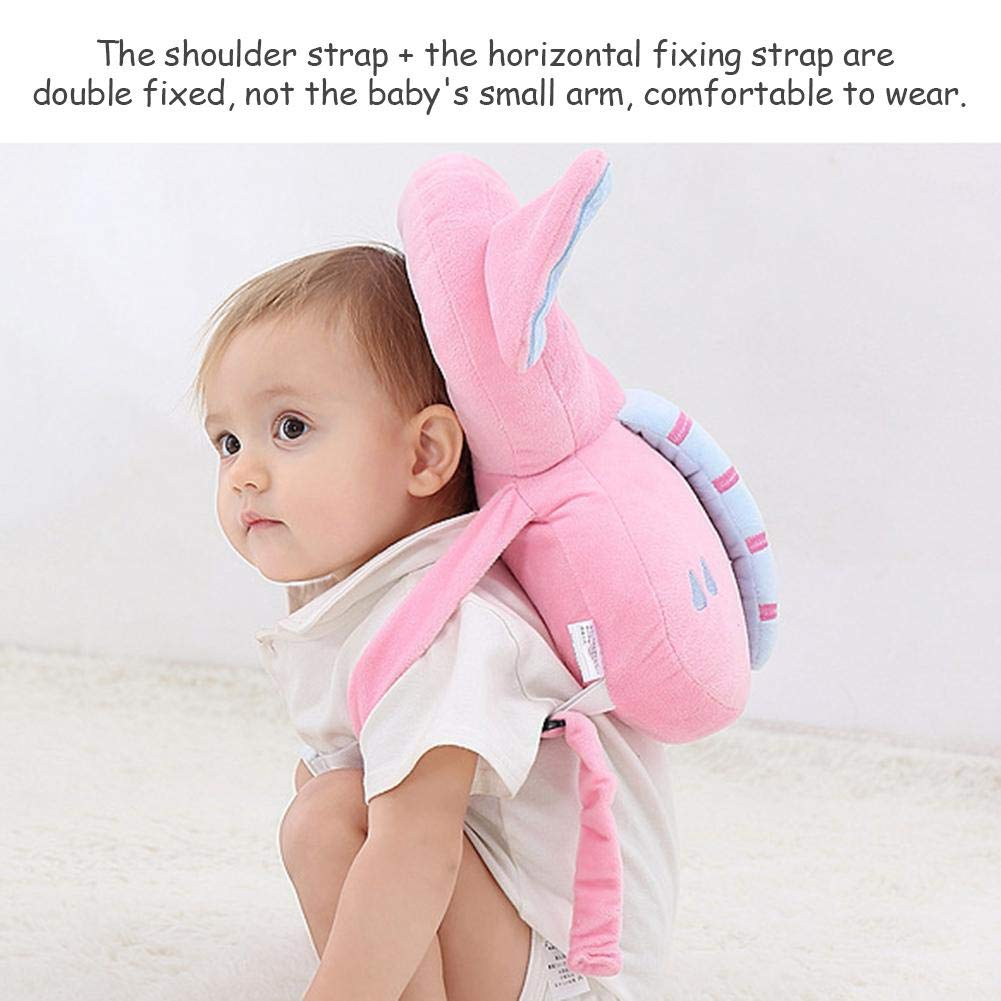 Liteness Baby Head protection pad Toddler headrest pillow baby neck Cute wings nursing drop resistance cushion