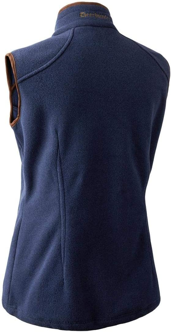 Deerhunter Lady Josephine Fleece Waistcoat Graphite blue