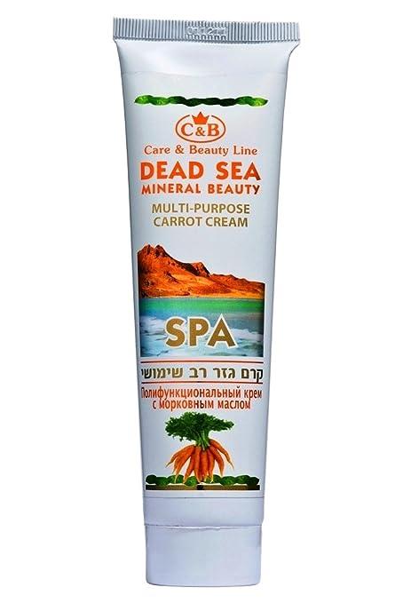 C & B mar muerto aceite de zanahoria multiusos crema 100 ml/3.4oz cuidado