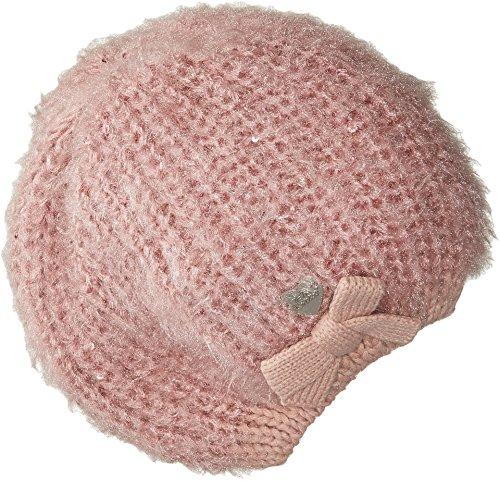 Betsey Johnson Women's Pearl Crazy Beret Blush One Size