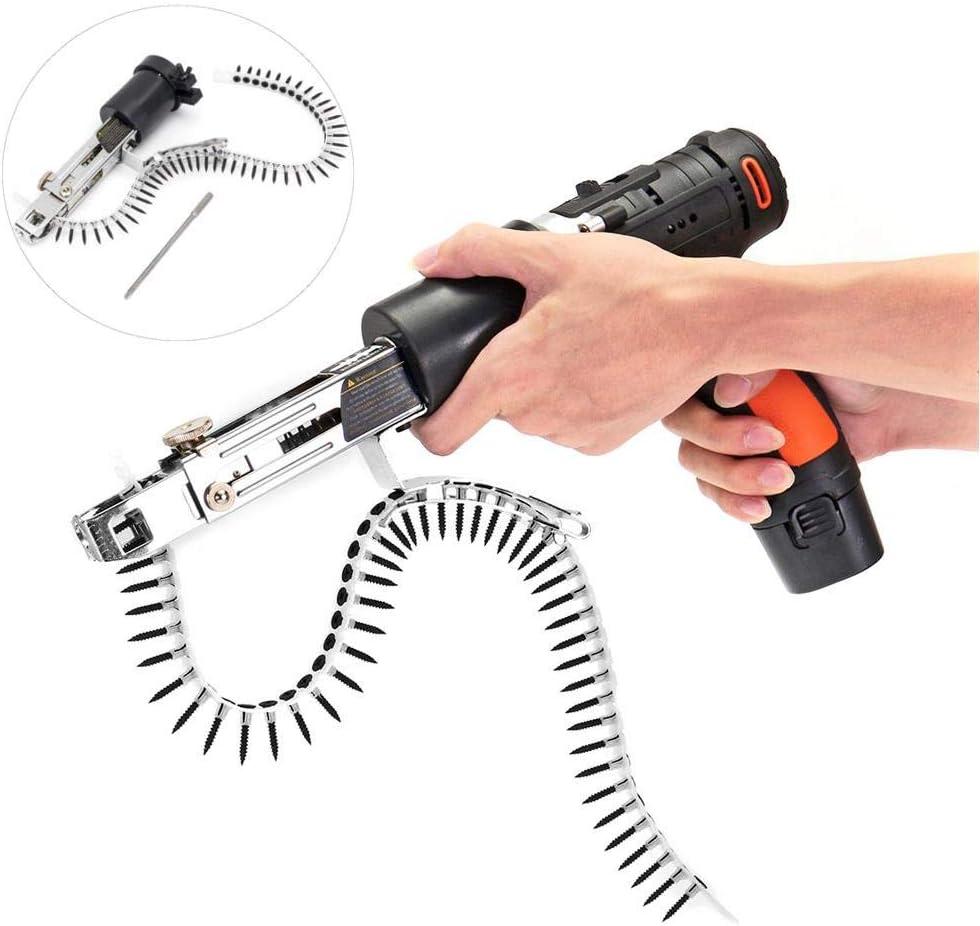 Adaptador de taladro de pistola de tornillo de cadena de actualización de Doolland Adaptador de pistola de clavo de cadena para taladro eléctrico
