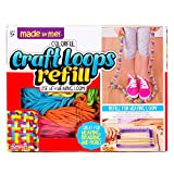 Made By Me Craft Loops Refill By Horizon Group Usa, Includes 7 Vibrant Colors