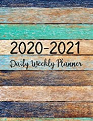 2020-2021 Planner: Jan 2020 - Dec 2021 2 Year Daily Weekly Monthly Calendar Planner W/ To Do List Academic Sch