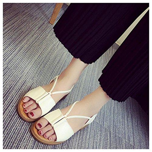 Sandals White Inkach Shoes Fashion Rome Flat Bohemia Summer Sandals Women npSqwxPHX