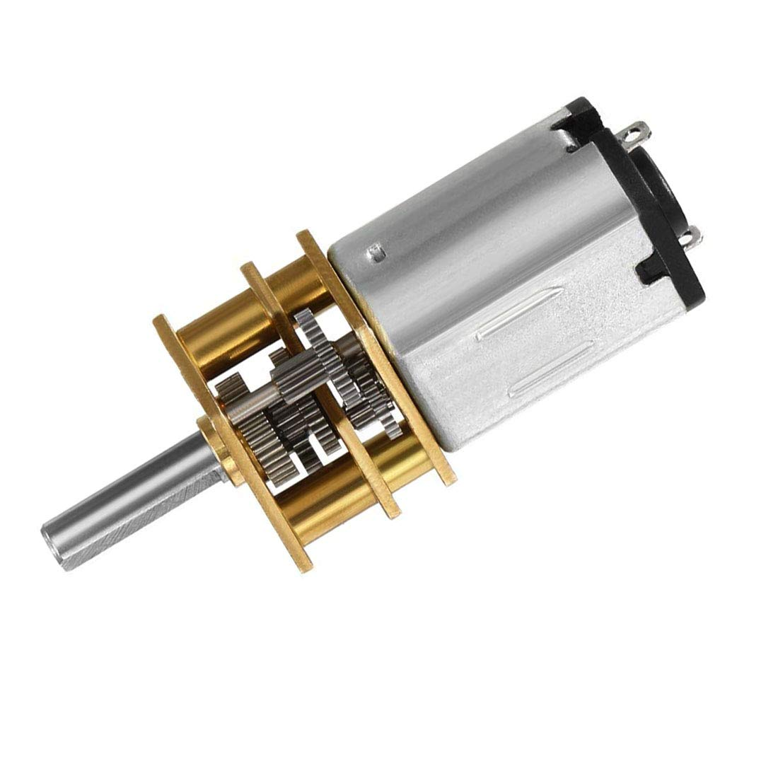 DC 12V 30RPM Mini Electric Gear Motor Gearwheel 3mm Shaft Box Motor