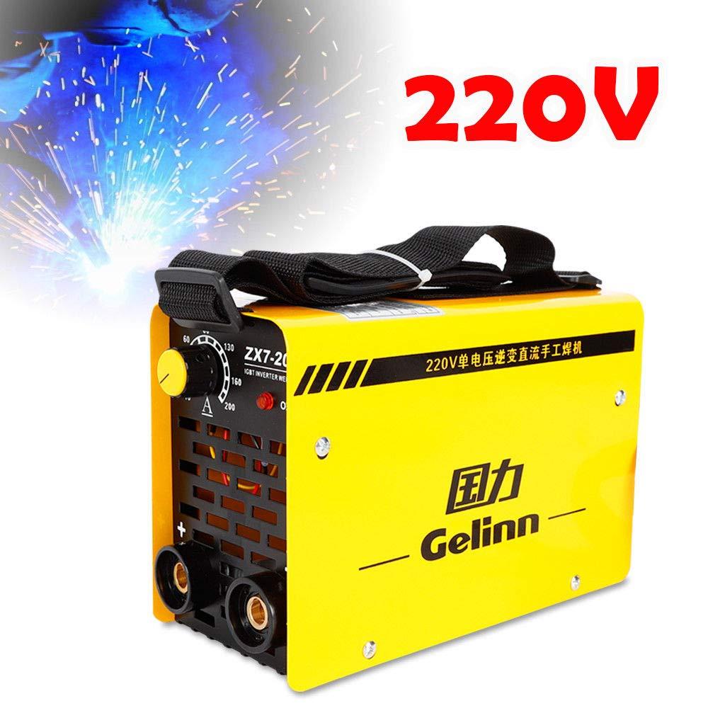Oukaning IGBT ZX7-200 - Inversor de soldadura (220 V): Amazon.es: Bricolaje y herramientas