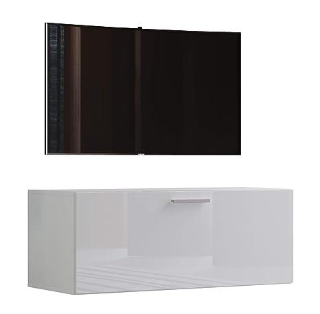 VCM TV Wand Board Schrank Tisch Fernseh Lowboard Wohnwand ...