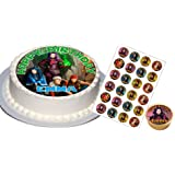 Descendants Party Set with Any Name (Round)