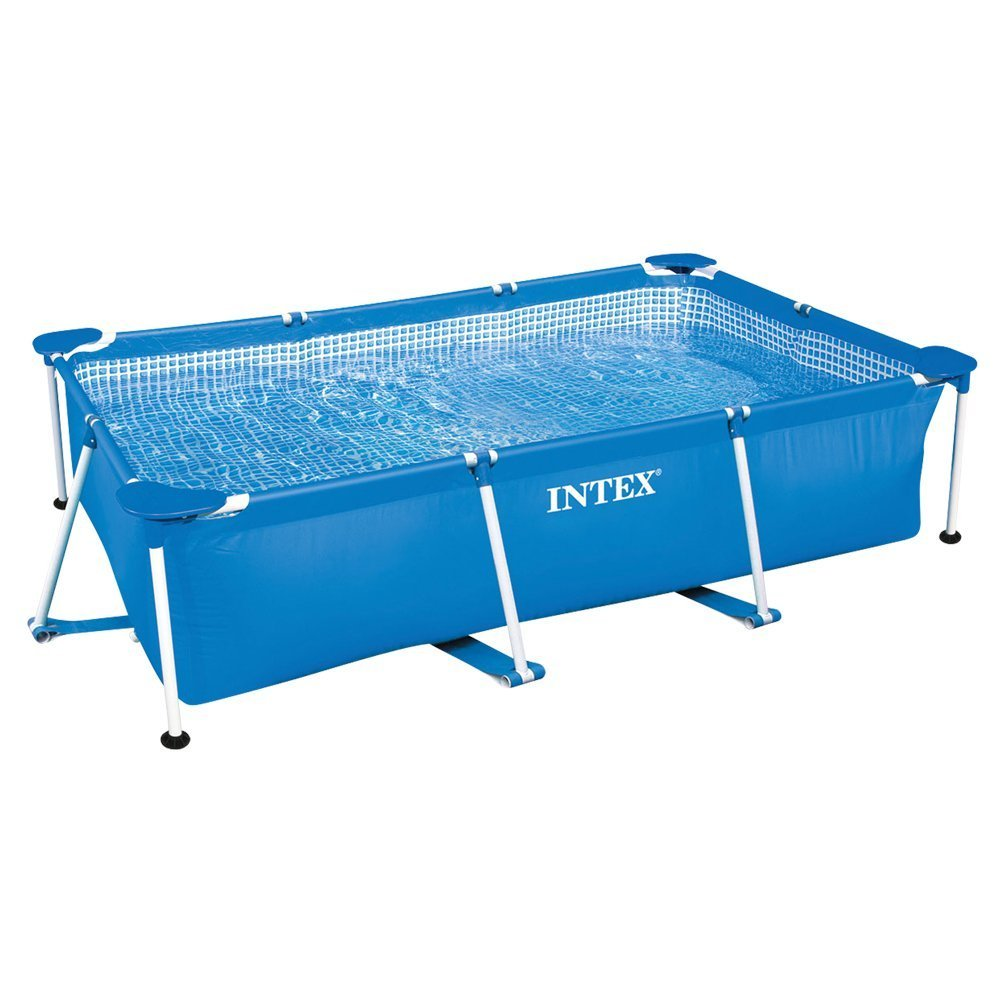 Intex piscina familiar Metal Frame 300 m x 200 m x 75 cm: Amazon.es: Jardín