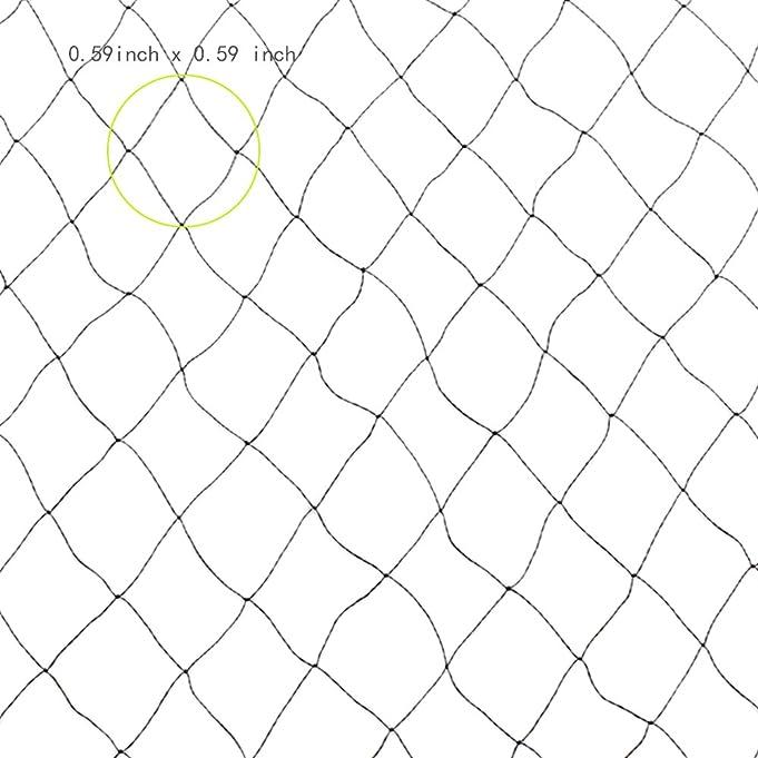 anpatio 16x16 feet anti bird netting reusable mesh nylon garden net 25 Foot Snake anpatio 16x16 feet anti bird netting reusable mesh nylon garden net heavy duty exclusion birds squirrels snake rat bat from fruit tree vegetable plants