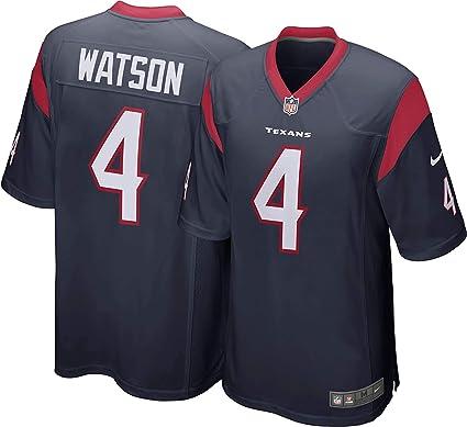 Amazon.com : Nike Deshaun Watson Houston Texans NFL Boys Youth 8 ...