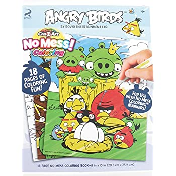 Angry Bird Coloring Book