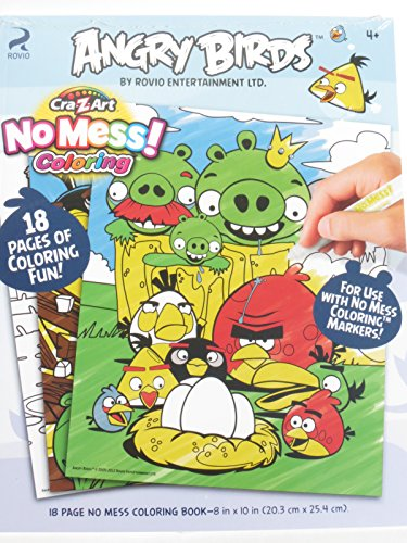 Cra Z Art Mess Angry Bird Coloring