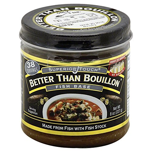 (Better Than Bouillon Fish Base 8.0 OZ(Pack of 3))