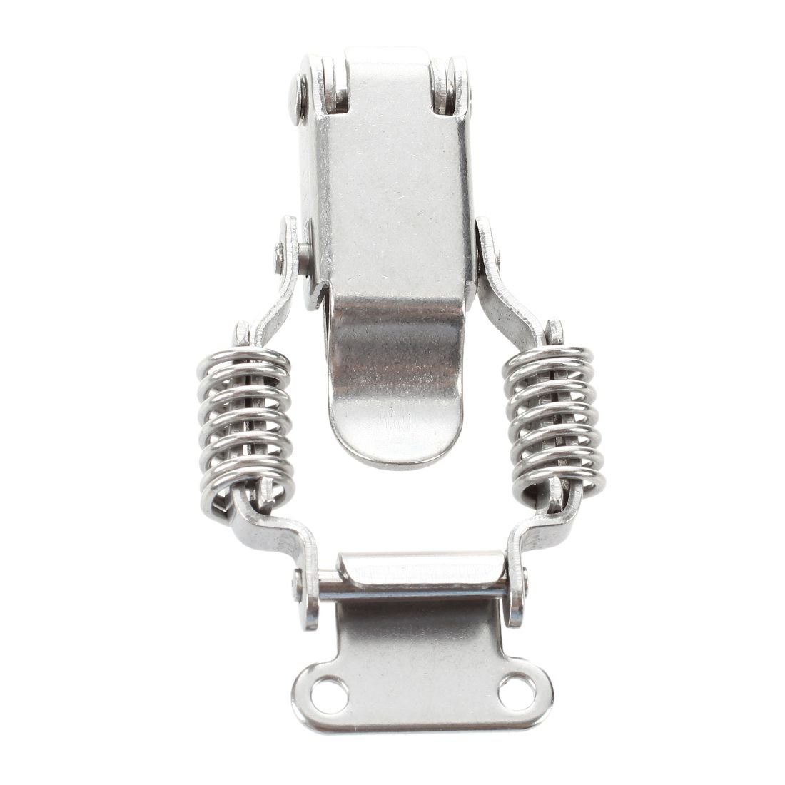 SODIAL Schrank 6,1 cm Laenge Metall Draw Spring Latch Hardware Silber R