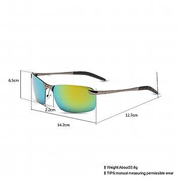 Gafas de Sol Polarizadas , Marco de Lente / Cañón Verde Amarillo