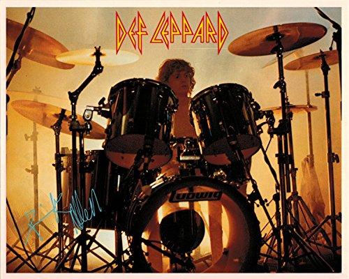 Rick Allen Def Leppard Drummer Portrait Vintage 80s 8