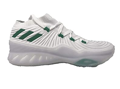 the best attitude 3ed76 0b45a adidas Crazy Explosive Low Christmas Shoe - Men s Basketball 9 White Green Light  Grey