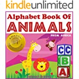 Toddler Books: Alphabet Book of Animals (African Animal Picture Books)