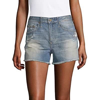 AG Adriano Goldschmied Women's The Sadie High Rise Jean Short: Clothing