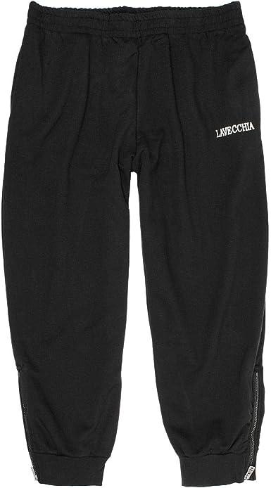 Lavecchia Tallas Extra Grandes Pantalón chándal Negro con más ...