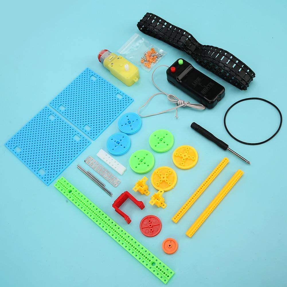 Garosa DIY Electric Conveyor Science Kits Assembled Educational Model Toy Children DIY Electric Conveyor Science Technology Tool