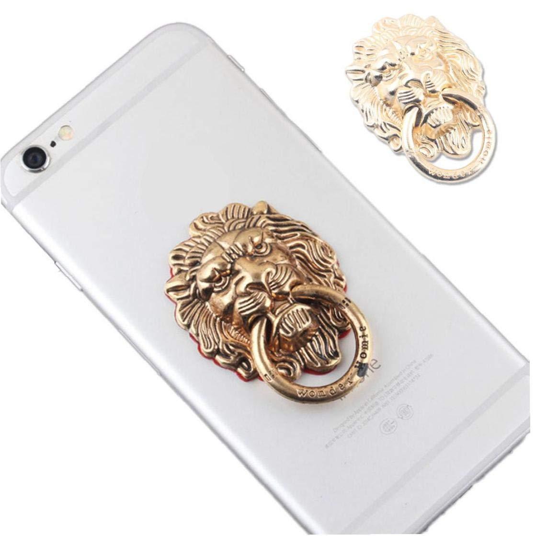 Lion Metall-Finger-Ring Telefon-Standplatz-Halter f/ür alle Handys