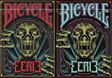 Eerie 2 Deck Set Bicycle Playing Cards Poker Size USPCC Custom Limited Edition