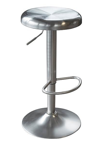 Amazon Com Amerihome Ssbst Loft Stainless Steel Bar Stool Kitchen