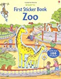 First Sticker Book Zoo (First Sticker Books)