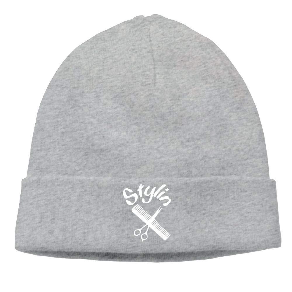 09/&JGJG Stylin Hair Dresser Men /& Women Beanie Outdoor Newsboy Hat