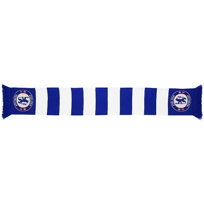 Bufanda oficial del Chelsea FC - Fútbol (Talla Única Azul royal   Blanco)   Amazon.es  Ropa y accesorios 11fd56d7124