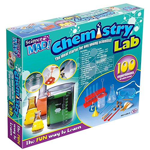 UK TREND CHEMISTRY SET KIDS TOY KIT CHILDREN 100 EXPERIMENTS ACTION SCIENCE GIFT by uk trend