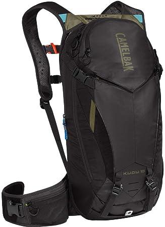 CAMELBAK Unisex - Adulto K.U.D.U. Protector 10 - Mochila de hidratación, Color Negro y Verde: Amazon.es: Deportes y aire libre
