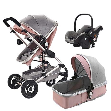 Cochecito de bebé plegable para bebés recién nacido y niño pequeño ...