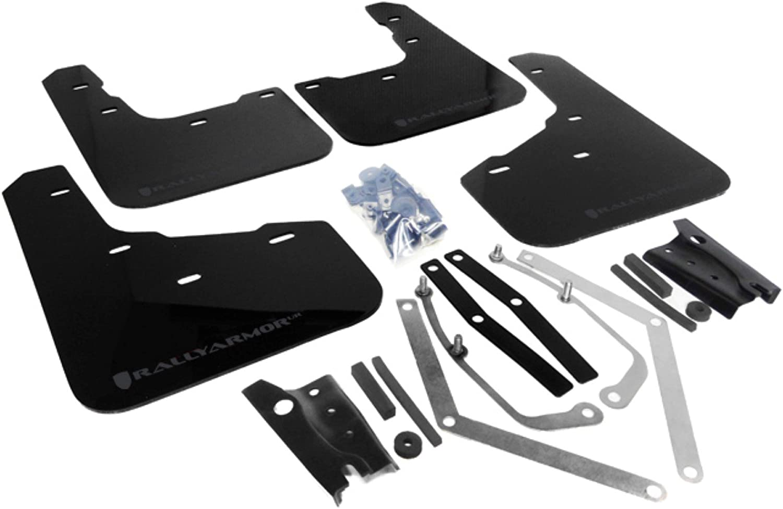 Rally Armor MF29-UR-BLK GRY Black Gray Flap discount 13+ with Colorado Springs Mall Mud Logo