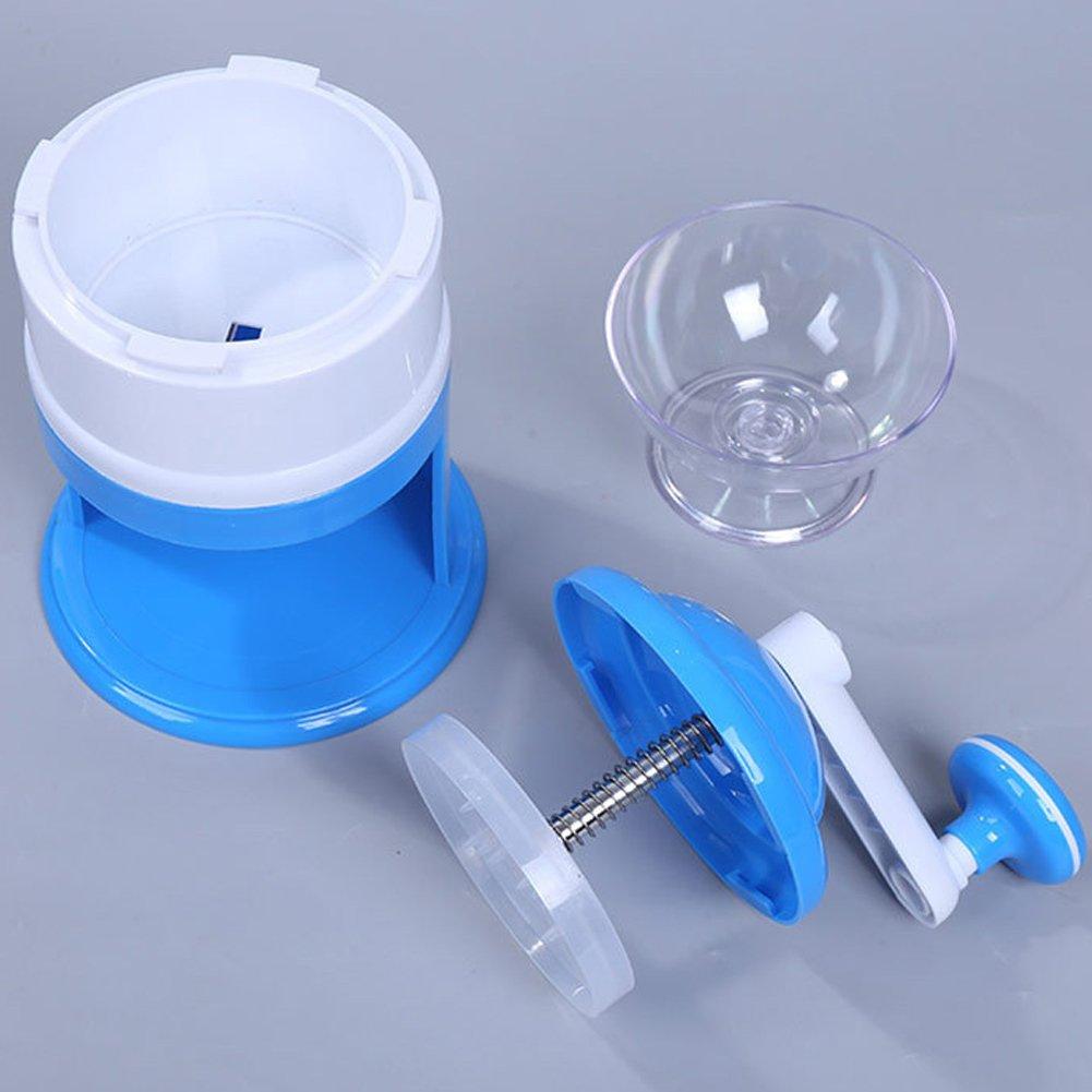 REFURBISHHOUSE/ Machine de Glace de concassage Manuelle de Neige de broyeur de Machine de Rasage Facile de Menage