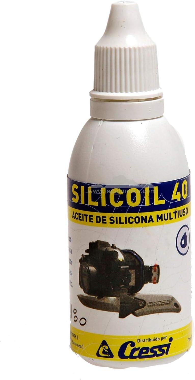 CRESSI - EHX 720005/391 : Aceite de silicona multiuso 40ml SILICOIL|40