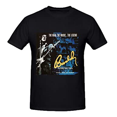fac6915d Buddy Holly Story Original Custom T Shirts Design Round Neck XXXX-L: Amazon. co.uk: Clothing