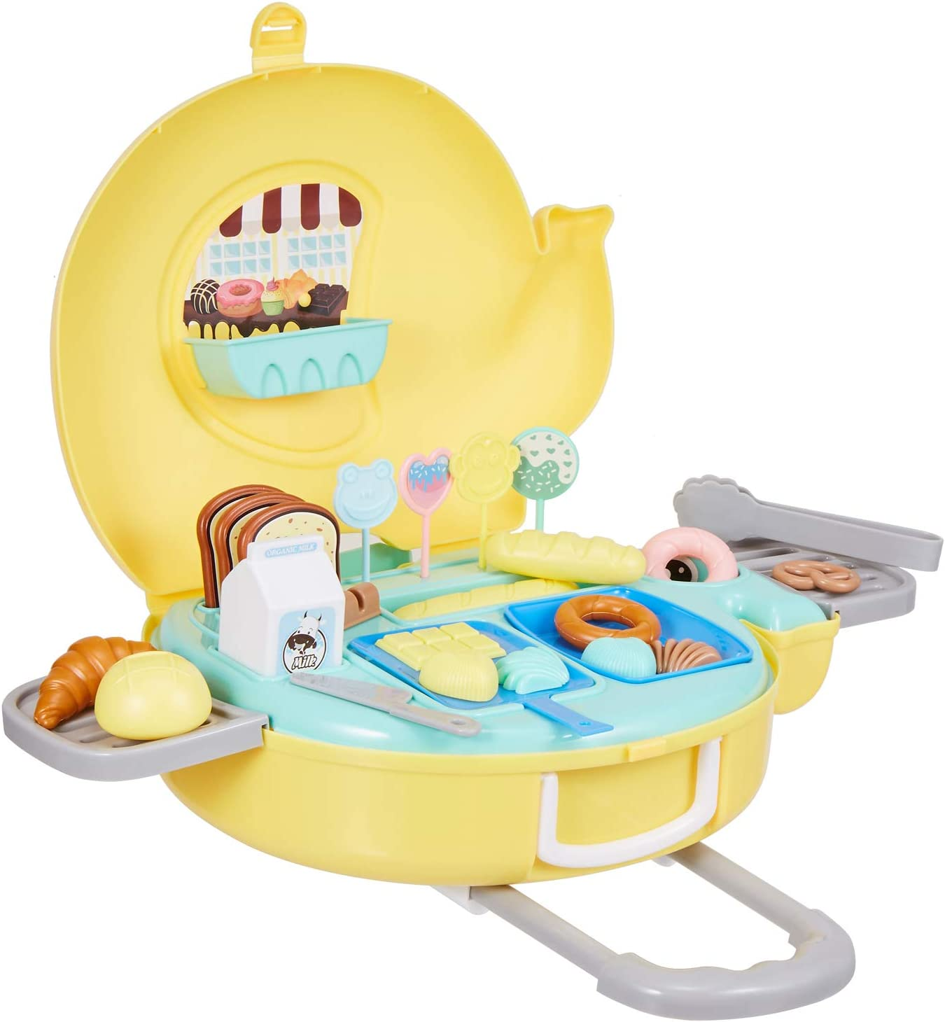 N\ A Kitchen Toy Set - Pretend to be a Kitchen Toy, Children's Cooking Toys are Suitable for Toddler Food and Cutting Toy Sets, The Best Gift for Boys and Girls who Like to Play with Kitchen Toy Sets