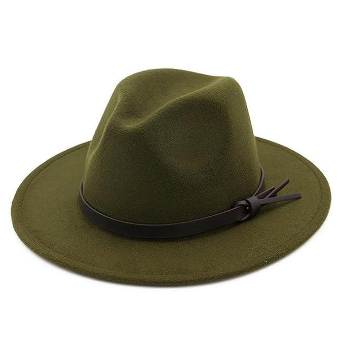 Lisianthus002 - Sombrero de Vestir - para Mujer Verde Army-Green Talla  única  Amazon.es  Ropa y accesorios bcaa989eaa6